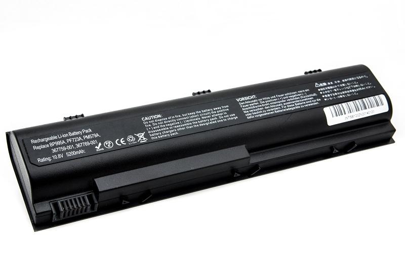 Купить Аккумулятор PowerPlant для ноутбуков HP Pavilion DV1000 (HSTNN-IB09, DV1000, 3S2P) 10.8V 5200mAh