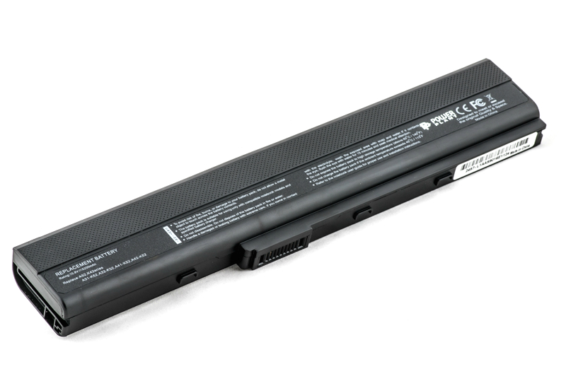 Купить Аккумулятор PowerPlant для ноутбуков ASUS A32-K52 (A32-K52, ASA420LH) 10.8V 5200mAh
