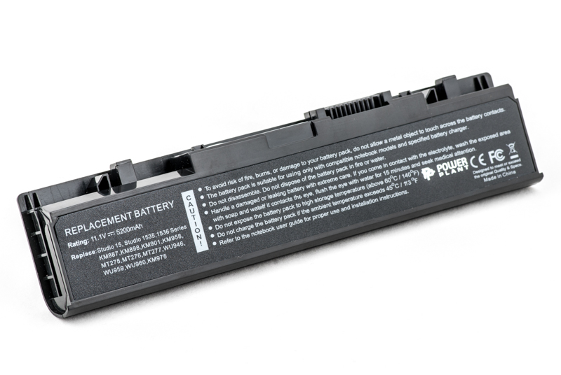 Купить Аккумулятор PowerPlant для ноутбуков DELL Studio 1535 (WU946, DE 1537 3S2P) 11.1V 5200mAh