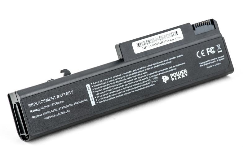 Купить Аккумулятор PowerPlant для ноутбуков HP EliteBook 6930p (HSTNN-UB68, H6735LH) 10.8V 5200mAh