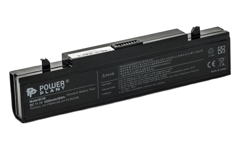 Купить Аккумулятор PowerPlant  для ноутбуков SAMSUNG Q318 (AA-PB9NC6B, SG3180LH) 11.1V 5200mAh