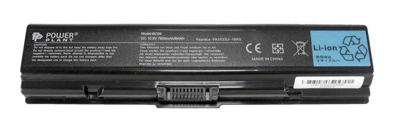 Купить Аккумулятор PowerPlant для ноутбуков TOSHIBA Satellite A200 (PA3533U-1BRS) 10.8V 7800mAh