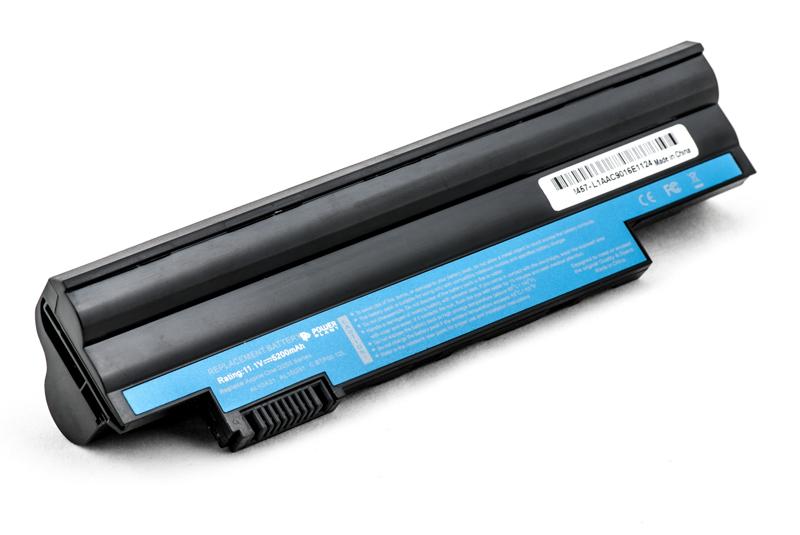 Купить Аккумулятор PowerPlant для ноутбуков ACER Aspire One D255 (AL10A31, AC D620, 3S2P) 11.1V 5200mAh