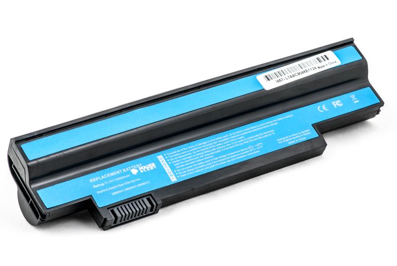 Купить Аккумулятор PowerPlant для ноутбуков ACER Aspire One (UM09G31, AR5325LH) 11.1V 5200mAh