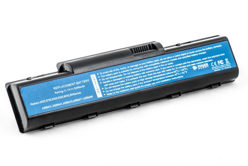 Купить Аккумулятор PowerPlant для ноутбуков ACER Aspire 4732 (AS09A31, ARD725LH) 11.1V 5200mAh