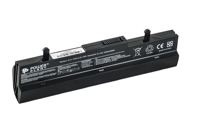 Купить Аккумулятор PowerPlant для ноутбуков ASUS Eee PC1005HA (AL32-1005, AS1005LH) 10.8V 5200mAh