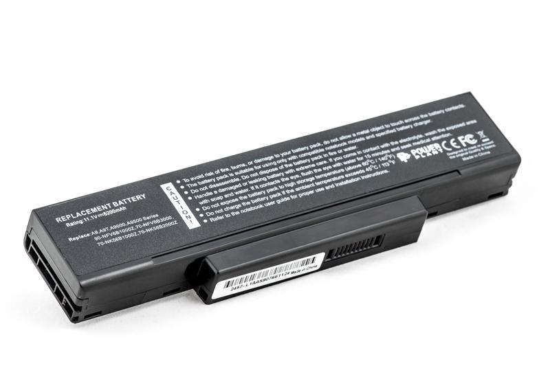 Купить Аккумулятор PowerPlant для ноутбуков ASUS A9 Series (90-NI11B1000, AS9000LH) 11.1V 5200mAh