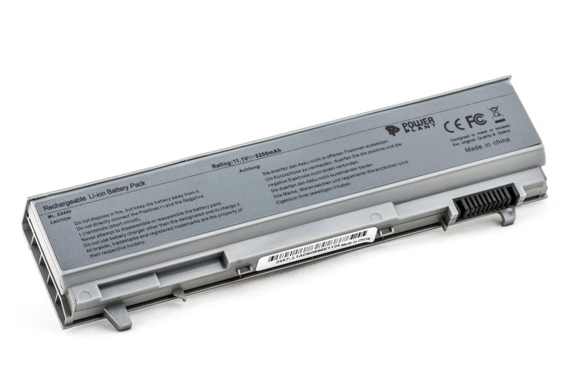 Купить Аккумулятор PowerPlant для ноутбуков DELL Latitude E6400 (PT434, DE E6400 3SP2) 11.1V 5200mAh