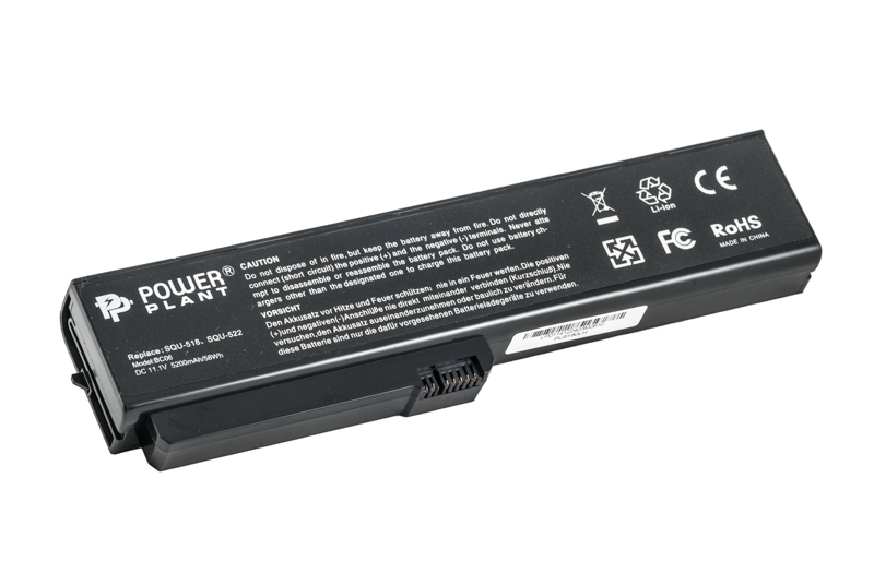 Купить Аккумулятор PowerPlant для ноутбуков FUJITSU Amilo V3205  (SQU-522, FU5180LH) 11.1V 5200mAh
