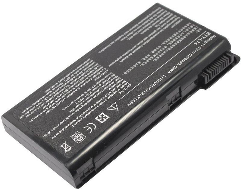 Купить Аккумулятор PowerPlant для ноутбуков MSI A6200 (BTY-L74, MSYL74LH) 11.1V 5200mAh