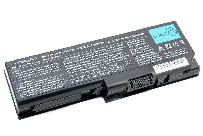 Купить Аккумулятор PowerPlant для ноутбуков TOSHIBA Satellite P200 (PA3536U-1BRS, TA3536LH) 10.8V 5200mAh