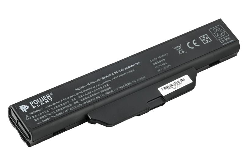 Купить Аккумулятор PowerPlant для ноутбуков HP Business Notebook 6720 (HSTNN-IB51, H6731) 14.8V 5200mAh