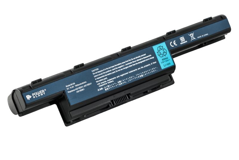 Купить Аккумулятор PowerPlant для ноутбуков ACER Aspire 4551 (AS10D41, AC 5560, 3S2P) 10.8V 7800mAh