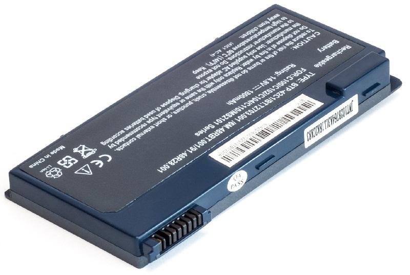 Купить Аккумулятор PowerPlant для ноутбуков ACER TravelMate C100 (BTP42C1, AC-42C1-4) 14.8V 1800mAh