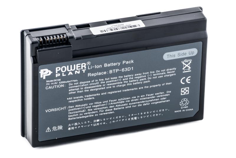 Купить Аккумулятор PowerPlant для ноутбуков ACER TravelMate C300 (BTP-63D1, AC-63D1-8) 14.8V 5200mAh