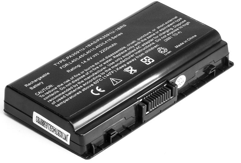 Купить Аккумулятор PowerPlant для ноутбуков TOSHIBA Satellite L40(PA3591U-1BRS, TO-3591-4) 14.4V 2200mAh