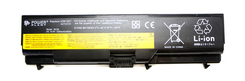 Купить Аккумулятор PowerPlant для ноутбуков IBM/LENOVO ThinkPad T430 (42T4733) 10.8V 5200mAh