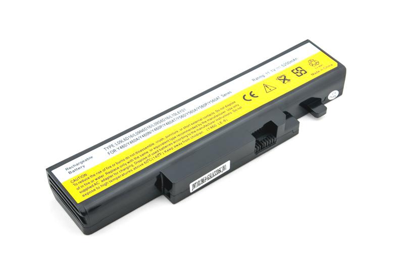 Купить Аккумулятор PowerPlant для ноутбуков IBM/LENOVO IdeaPad Y460 (LO9N6D16) 11.1V 5200mAh