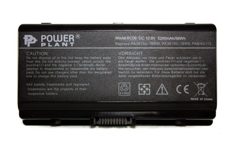 Купить Аккумулятор PowerPlant для ноутбуков TOSHIBA Equium L40 (PA3615U-1BRS) 10.8V 5200mAh