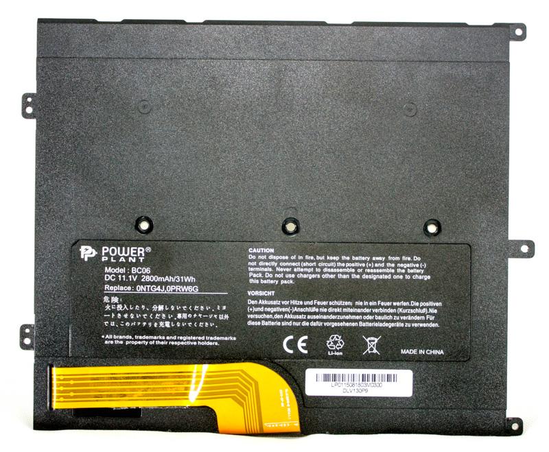 Купить Аккумулятор PowerPlant для ноутбуков DELL Vostro V13 (0NTG4J) 11.1V 2800mAh