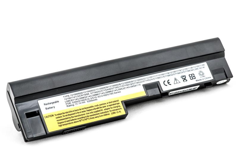Купить Аккумулятор PowerPlant для ноутбуков IBM/LENOVO IdeaPad S10-3 (L09M3Z14, LES205-6BK) 11.1V 5200 mAh
