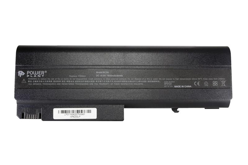 Купить Аккумулятор PowerPlant для ноутбуков HP Business Notebook 6510b (HSTNN-UB08) 10.8V 7800mAh