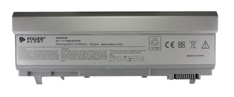 Купить Аккумулятор PowerPlant для ноутбуков DELL Latitude E6400 (PT434, DE E6400 3SP2) 11.1V 7800mAh