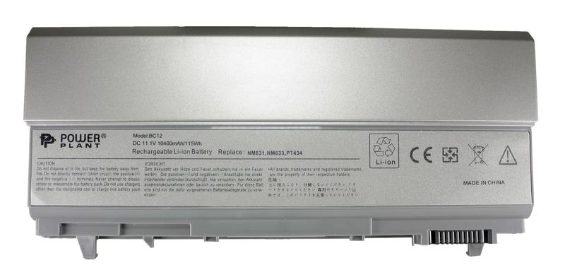 Купить Аккумулятор PowerPlant для ноутбуков DELL Latitude E6400 (PT434, DE E6400 3SP2) 11.1V 10400mAh