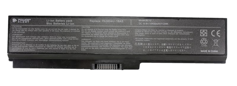 Купить Аккумулятор PowerPlant для ноутбуков TOSHIBA Satellite M300 (PA3634U-1BRS) 10.8V 10400mAh