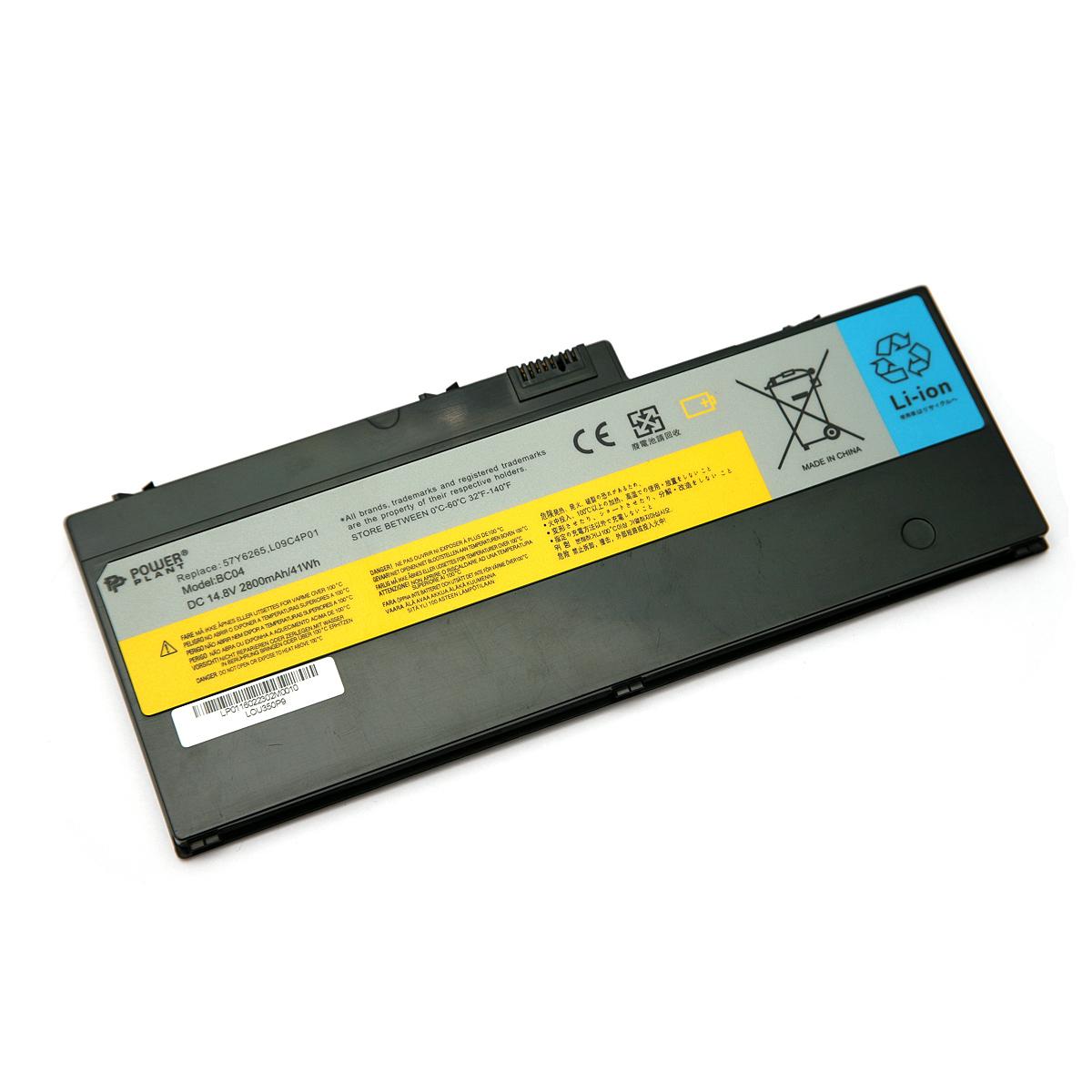 Купить Аккумулятор PowerPlant для ноутбуков IBM/LENOVO IdeaPad U350 (l09C4P01, LOU350P9) 14.8V 2800mAh