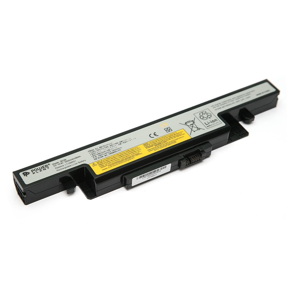 Купить Аккумулятор PowerPlant для ноутбуков IBM/LENOVO IdeaPad Y490 (L11L6R02, LOY490LH) 10.8V 5200mAh