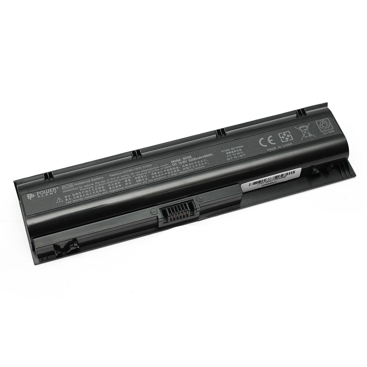 Купить Аккумулятор PowerPlant для ноутбуков HP ProBook 4340s (HSTNN-YB3K, HP4340LH) 10.8V 5200mAh