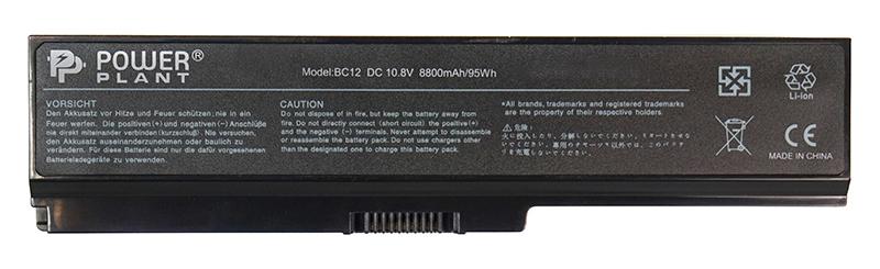 Купить Аккумулятор PowerPlant для ноутбуков TOSHIBA Satellite L750 (PA3819U-1BRS) 10.8V 8800mAh