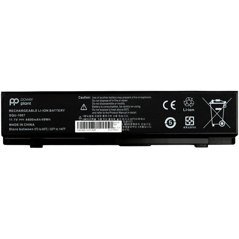 Купить Аккумулятор PowerPlant для ноутбуков LG Aurora ONOTE S430 (SQU-1017) 11.1V 4400mAh