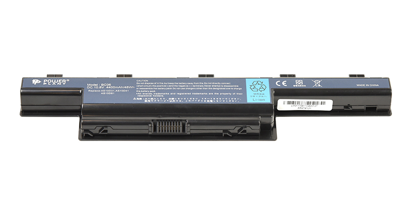 Купить Аккумулятор PowerPlant для ноутбуков ACER Aspire 4551 (AR4741LH, GY5300LH) 10.8V 4400mAh