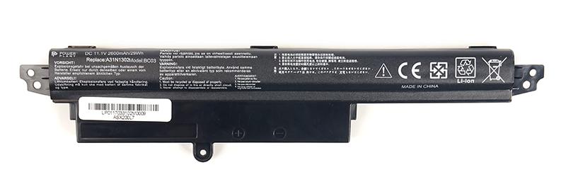 Купить Аккумулятор PowerPlant для ноутбуков ASUS VivoBook X200CA (ASX200L7) 11.1V 2600mAh