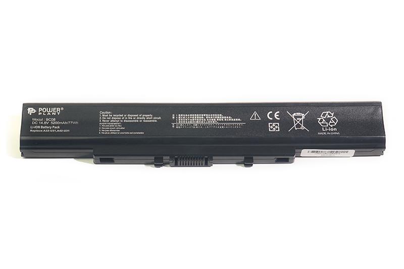 Купить Аккумулятор PowerPlant для ноутбуков ASUS U31 (A32-U31, ASU31ELH) 14.8V 5200mAh