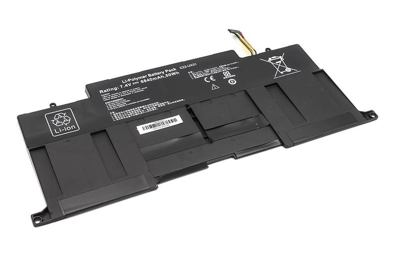 Купить Аккумулятор PowerPlant для ноутбуков ASUS Zenbook UX31 (UX31E-RY010V) 7.4V 6840mAh