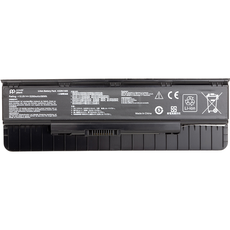 Купить Аккумулятор PowerPlant для ноутбуков ASUS ROG G551 (A32N1405) 10.8V 5200mAh
