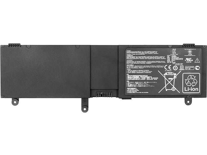 Купить Аккумулятор для ноутбуков ASUS N550 Series (C41-N550) 15V 59Wh (original)