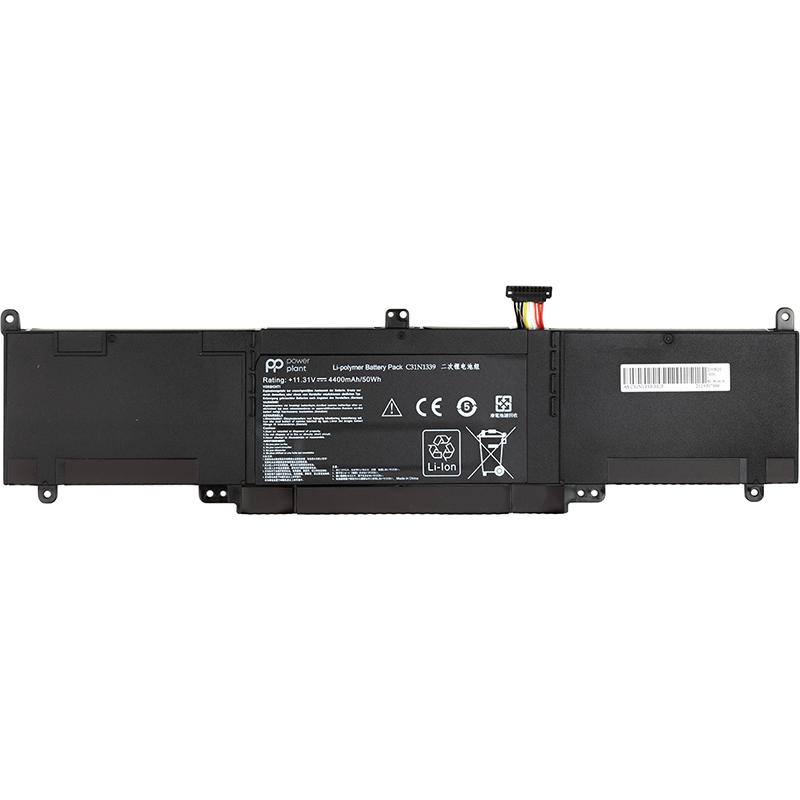 Купить Аккумулятор PowerPlant для ноутбуков ASUS ZenBook UX303L (C31N1339) 11.31V 4400mAh