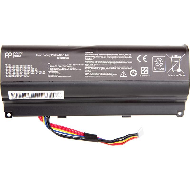 Купить Аккумулятор PowerPlant для ноутбуков ASUS ROG G751 (A42N1403) 15V 88Wh