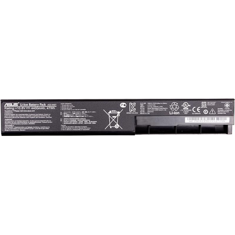 Купить Аккумулятор для ноутбуков ASUS X401 (A32-X401) (original)