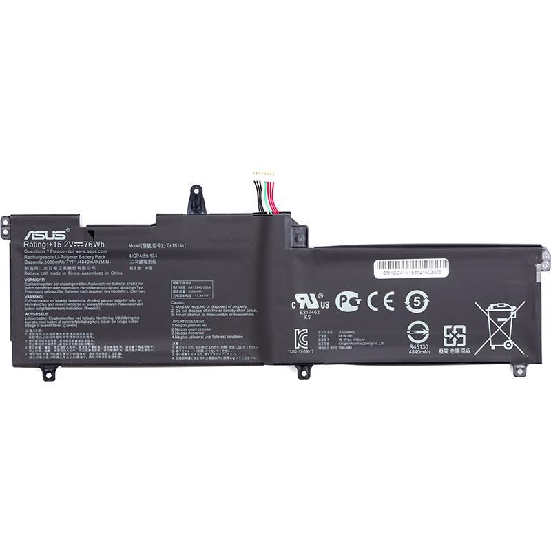 Купить Аккумулятор для ноутбуков ASUS ROG Strix GL702V (C41N1541) 15.2V 5000mAh (original)