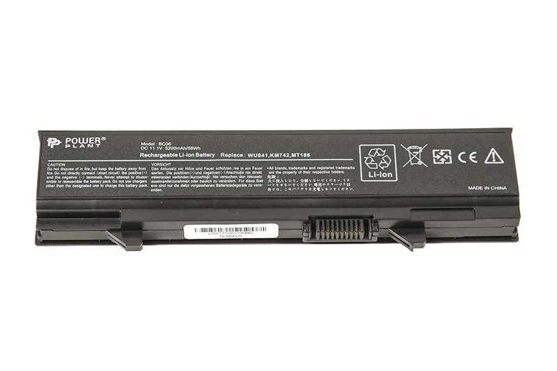 Купить Аккумулятор PowerPlant для ноутбуков DELL Latitude E5400 (KM668, DL5400LH) 11.1V 5200mAh