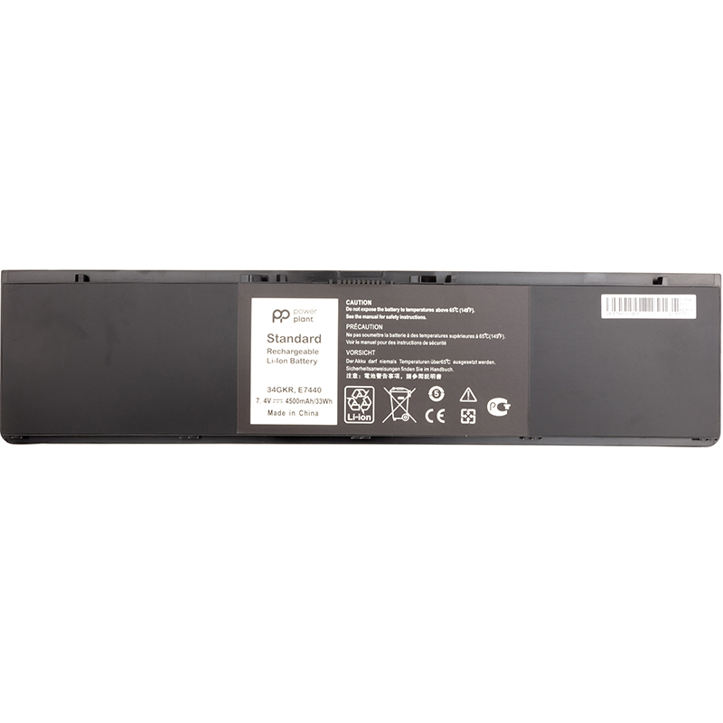 Купить Аккумулятор PowerPlant для ноутбуков DELL Latitude E7440 Series (DL7440PK) 7.4V 4500mAh