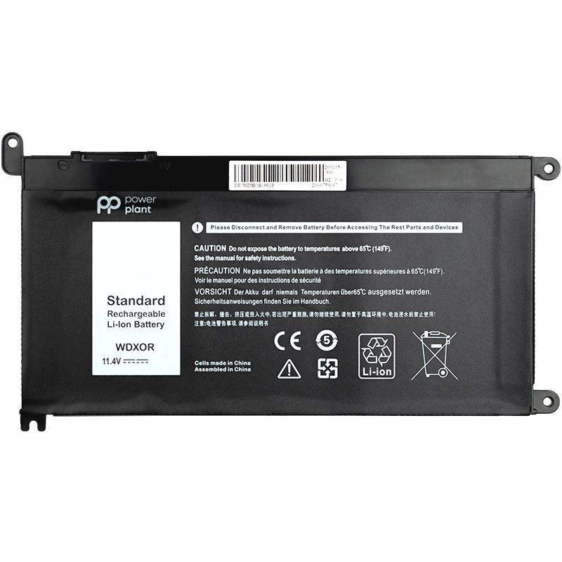 Купить Аккумулятор PowerPlant для ноутбуков DELL Inspiron 17-5770 (T2JX4) 11.4V 2200mAh