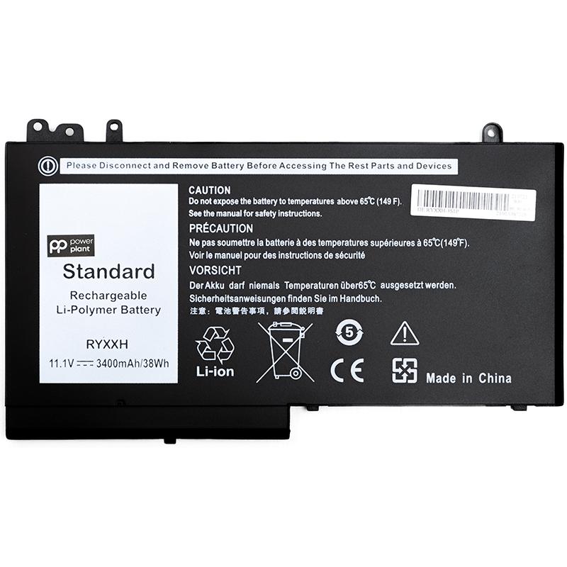 Купить Аккумулятор для ноутбуков DELL Latitude 12 5000 (RYXXH) 11.1V 38Wh (original)