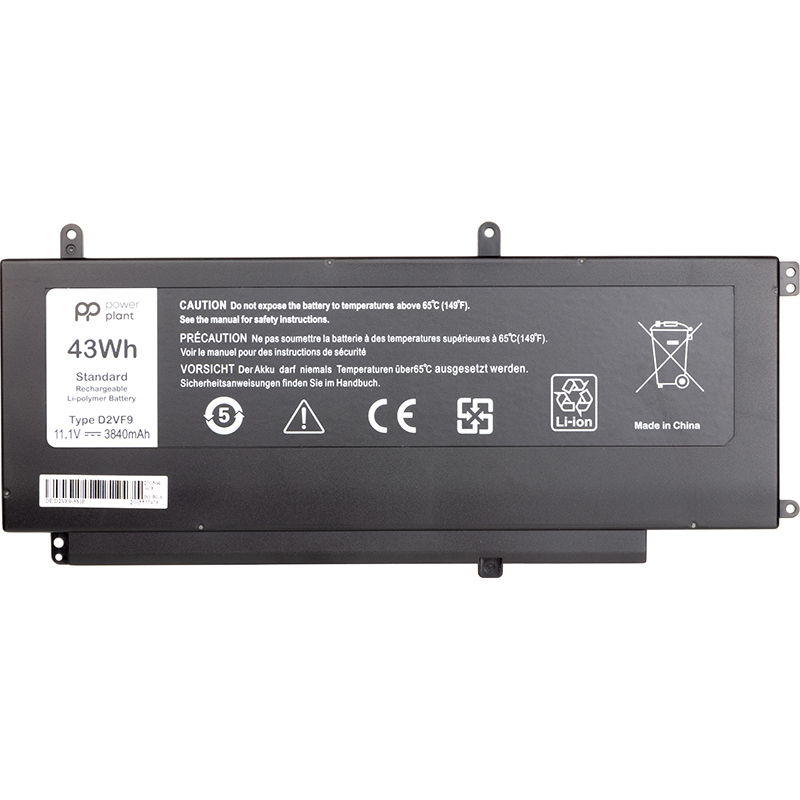 Купить Аккумулятор PowerPlant для ноутбуков DELL Inspiron 15 7547 (D2VF9) 11.1V 3840mAh