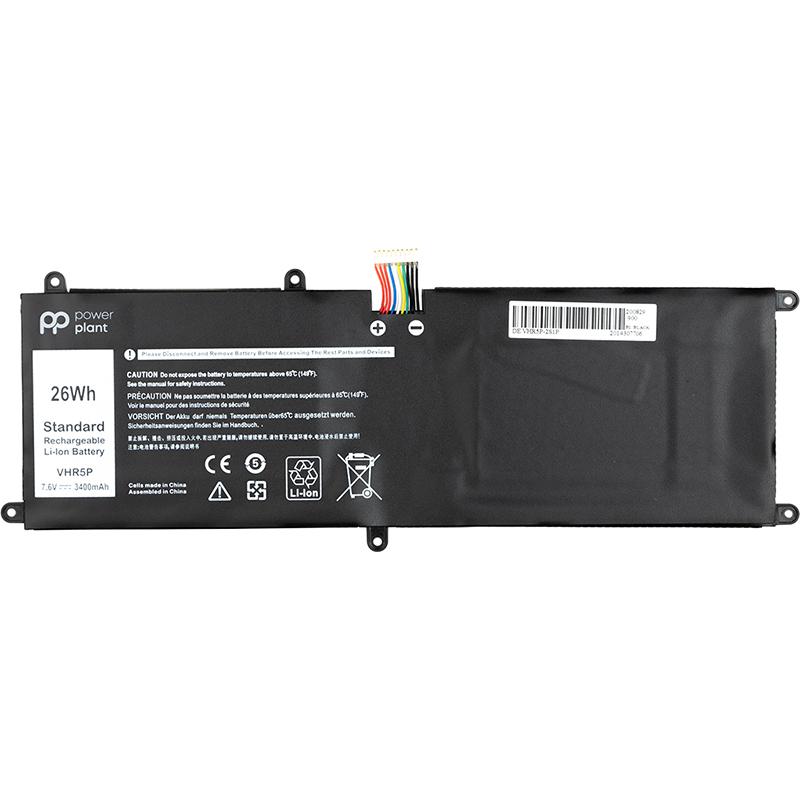 Купить Аккумулятор PowerPlant для ноутбуков DELL Latitude 11 5175 (VHR5P) 7.6V 3400mAh
